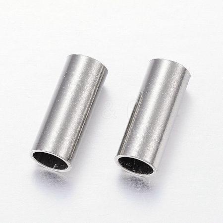 304 Stainless Steel Tube BeadsSTAS-P128-11-1