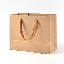 Rectangle Kraft Paper Bags AJEW-L047C-01