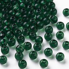 Transparent Acrylic Beads MACR-S370-A6mm-735