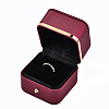 Imitation Leather Ring BoxLBOX-S001-003-4