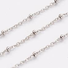 304 Stainless Steel Cable Chains CHS-H007-06P