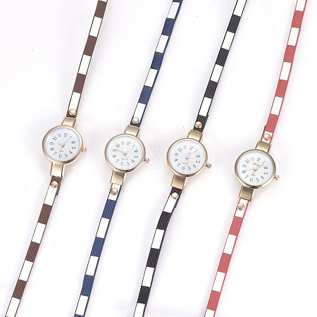 Alloy Watch Head Bracelet Watches WACH-P017-P-1