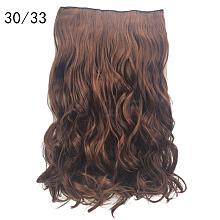 3/4 Full Head Curly Wavy Clips  OHAR-G006-B02