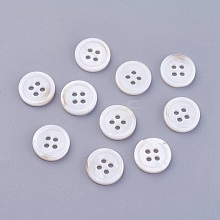 4-Hole Shell Buttons BSHE-P026-17