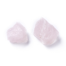 Rough Raw Natural Rose Quartz Beads G-WH0003-05