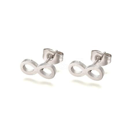 304 Stainless Steel Stud EarringsX-EJEW-L227-043P-1
