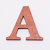 Large Natural Wood Letters for ChristmasDIY-WH0181-67-2