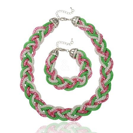 Iron Chain Jewelry SetsSJEW-PJS328-1