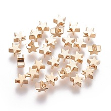 Brass Beads KK-L180-020G-NF