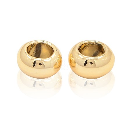 Nickel Free & Lead Free Unfading Golden Alloy Rondelle BeadsPALLOY-J218-155G-NR-1