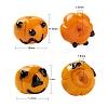 20Pcs 2 Style Halloween Theme Handmade Lampwork BeadsLAMP-LS0001-02-3