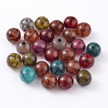 Colorful Resin BeadsRESI-R284-18-M-1