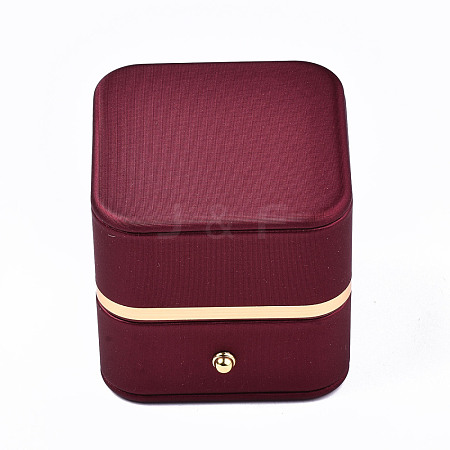 Imitation Leather Ring BoxLBOX-S001-003-1