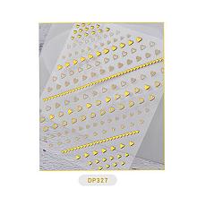 Nail Art Stickers Decals MRMJ-Q033-010A