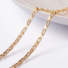 304 Stainless Steel Venetain Chains CHS-H007-34G