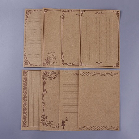 Vintage Retro Writing Letter Stationery PaperBT-TAC0002-A03-1