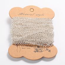 Iron Twisted Chains Curb Chains X-CH-L001A-16S