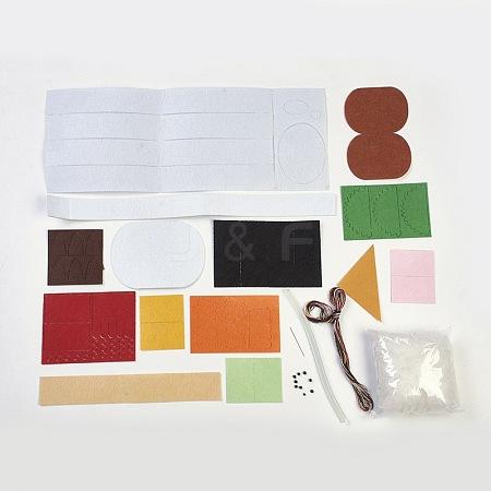 Handmade Non Woven Fabric Sushi Lunch SetDIY-L008-03-1