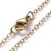 Brass Pendant Necklaces SetsNJEW-JN02679-6