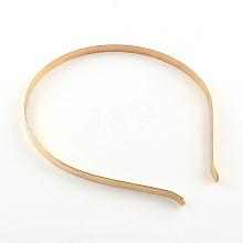 Hair Accessories Iron Hair Band Findings OHAR-Q042-008F-03