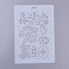 Plastic Drawing Painting Stencils TemplatesDIY-E015-18A-2