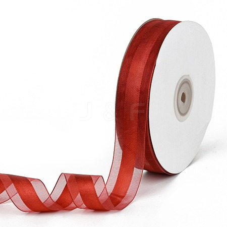 Solid Color Organza RibbonsORIB-E005-B05-1