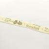 Single Face Printed Cotton RibbonOCOR-R012-2.0cm-B10-2