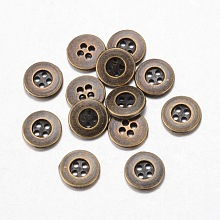 Alloy Buttons X-BUTT-D054-15mm-04