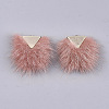 Faux Mink Fur Tassel Pendant Decorations FIND-S302-05F-2