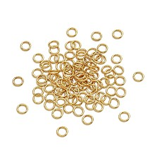 304 Stainless Steel Close but Unsoldered Jump Rings STAS-TA0004-05G