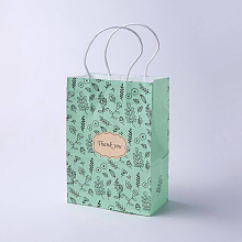 kraft Paper Pouches Gift Shopping Bags CARB-E002-S-S03