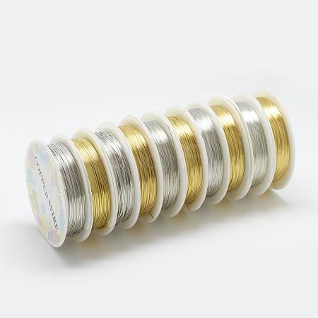 Copper Jewelry WireCW0.3mm018-1