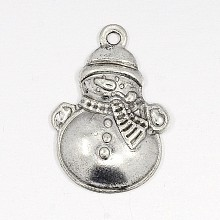 Lovely Snowman Alloy Charms X-EA314Y