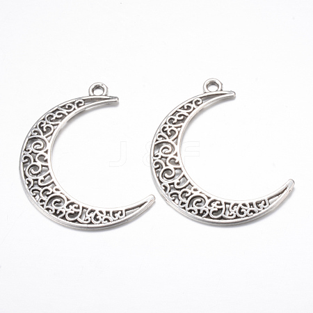 Tibetan Style Alloy Pendants TIBE-S299-029AS-NR-1
