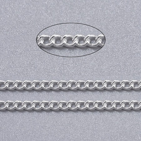 Brass Twisted Chains CHC010Y-S-1