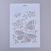 Plastic Drawing Painting Stencils Templates DIY-E015-18D-1