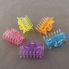 Mixed Color Acrylic Claw Hair Clips X-PHAR-R049-M