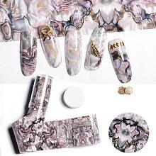 Nail Art Transfer Foil Nail Sticker MRMJ-TA0007-03