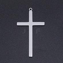201 Stainless Steel Laser Cut Pendants STAS-S105-T926-1