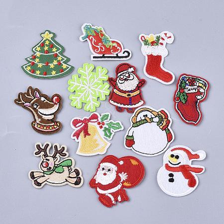 Christmas ThemeAJEW-S076-033-1