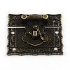 Wooden Box Lock Catch ClaspsIFIN-R203-49AB-3