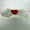 Cute Angel Wing Design Handmade Crochet Baby Costume Photography PropsAJEW-R030-13-2