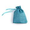 Burlap Packing Pouches Drawstring BagsABAG-Q050-15x20-17-2