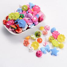 Acrylic Shank Buttons BUTT-A008-M06
