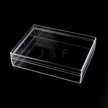 Rectangle Plastic Bead Storage Containers CON-R006-06
