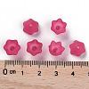 Transparent Acrylic Beads CapsPL543-12-5