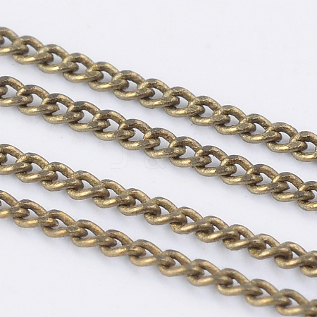 Brass Twisted ChainsCHC-S109-AB-NF-1