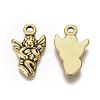 Tibetan Style Alloy Antique Golden Angel PendantsX-GLF0441Y-NF-1