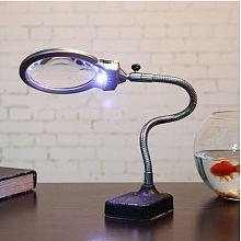 LED Desk Magnifier Lamp TOOL-E005-27