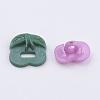 Acrylic Shank ButtonsX-BUTT-E092-02-3